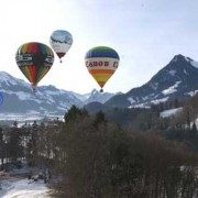 Collection Of Beautiful Multicolored Hot Air Balloons Photos