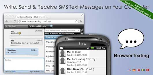 Text Messaging ↔ PC Texting