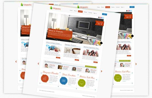 Free Clean and Modern Site Template