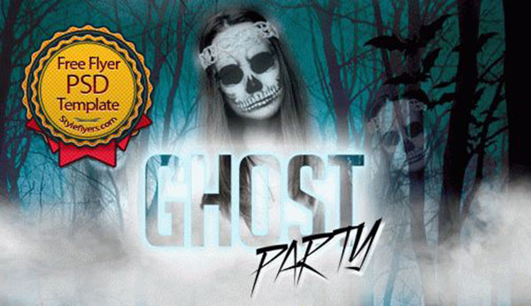 Ghost Party Flyer