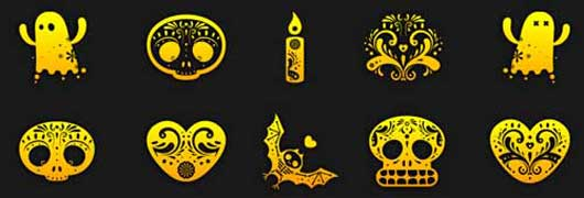 Increase the joy on Halloween using Vector Icons
