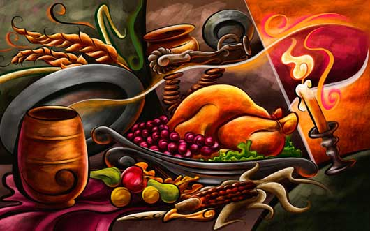 Beautiful Trends of Thanksgiving – 40 iPhone5 Wallpapers