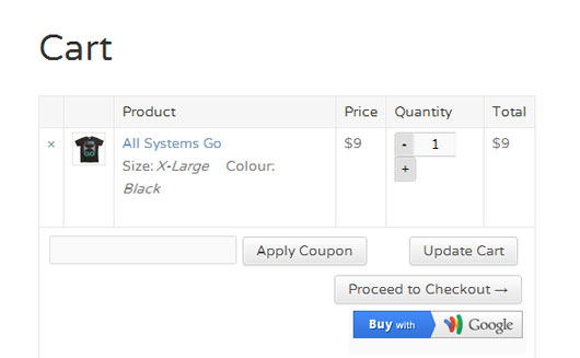 Google Wallet Payment Gateway for WooCommerce