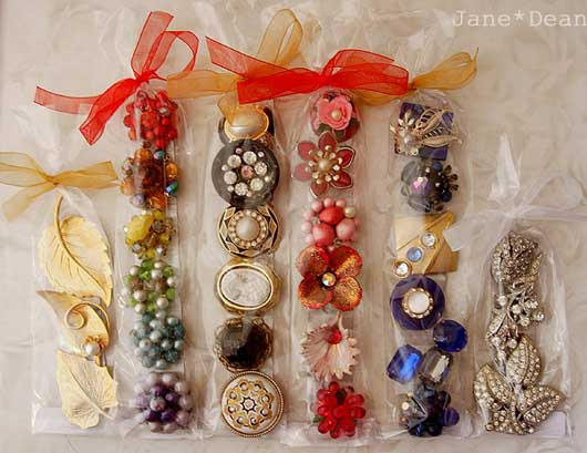 Packaged jewelry magnet sets