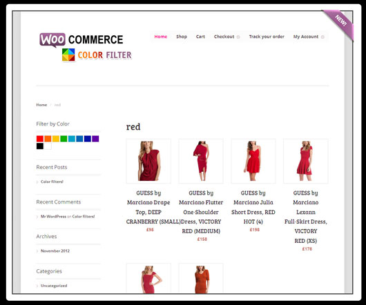 WooCommerce Products Color Filters – WP Plugin