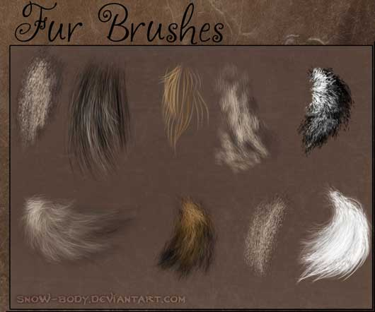 Brushes: FUR 1