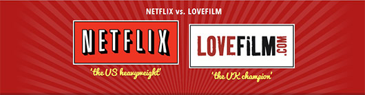 Comparing Content of Netflix, LOVEFILM