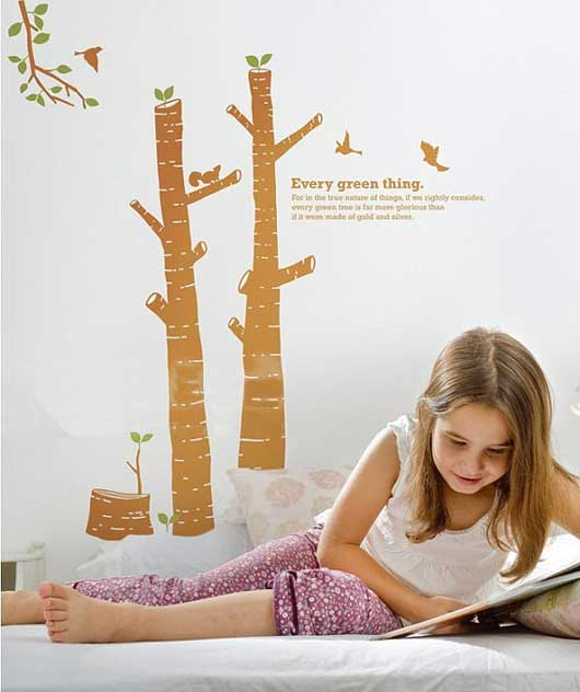 Every Thing Green Wall Sticker