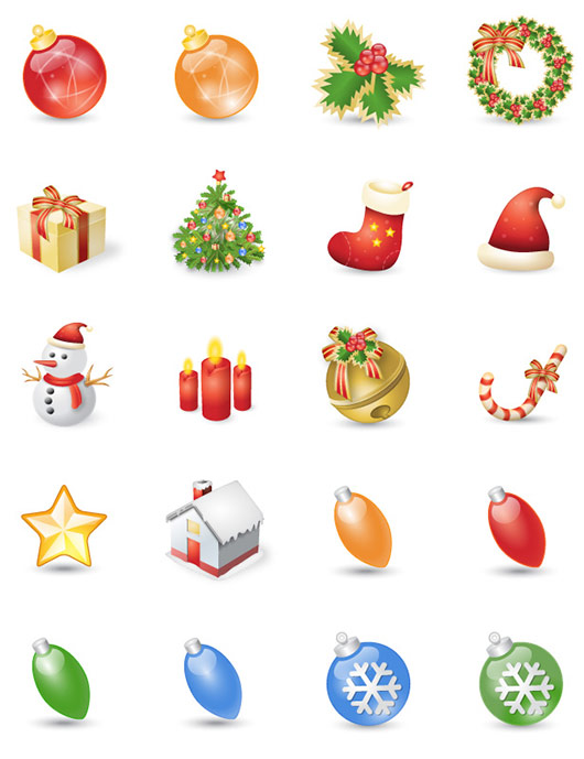"""Exclusive Icons for the Holidays: """"Xmas Festives"""""""