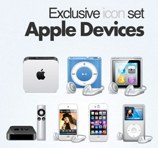 Free download: 10 Apple Device Icons
