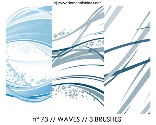 PHOTOSHOP BRUSHES : waves
