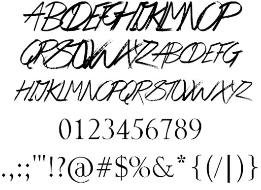 Be Here Soon font