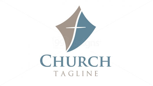 Church Cross Logo