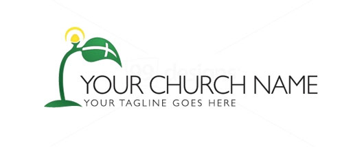 Church logo. Growing your faith.