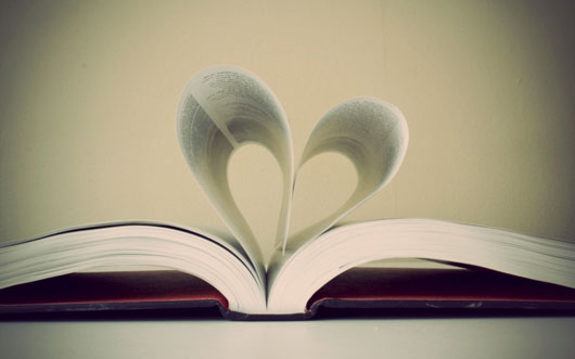 Heart-shaped-pages