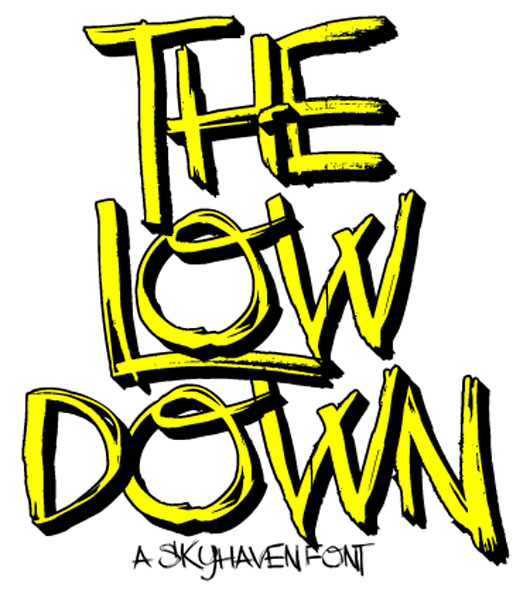 The Low Down font