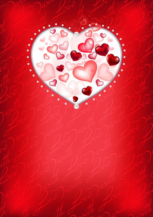 Free Valentines Vector Background