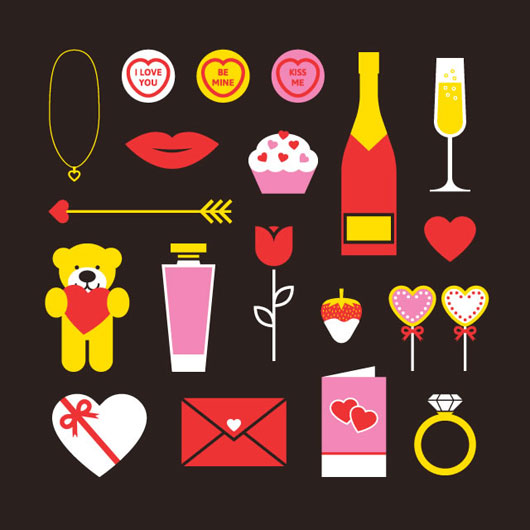 Freebie: Valentines Vector Pack