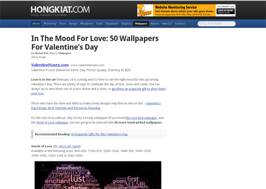 In The Mood For Love: 50 Wallpapers For Valentine's Day