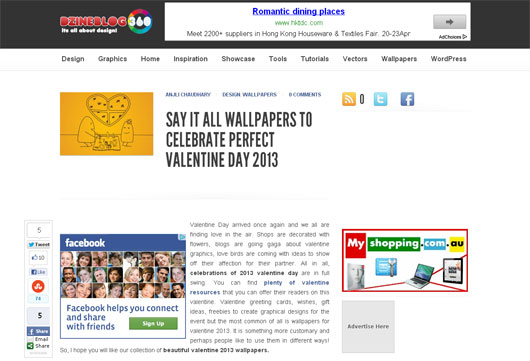 SAY IT ALL WALLPAPERS TO CELEBRATE PERFECT VALENTINE DAY 2013