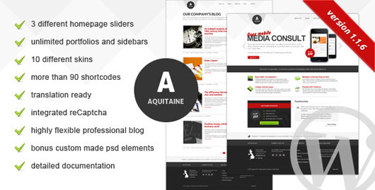 Aquitaine Business Theme