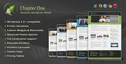 Chapter One Business WordPress Theme