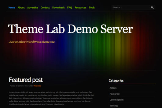Colourise Free WordPress  Theme
