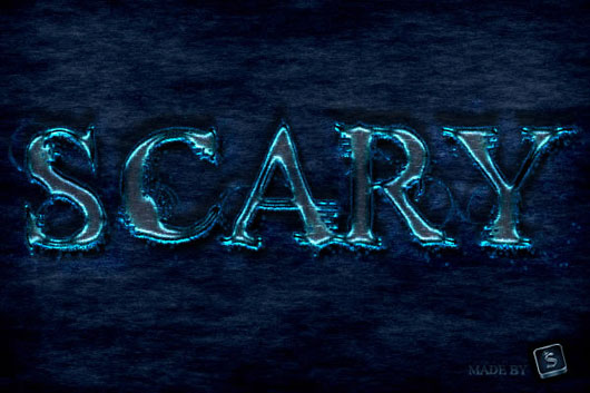 """Create a """"Scary"""" Text Effect in Photoshop"""