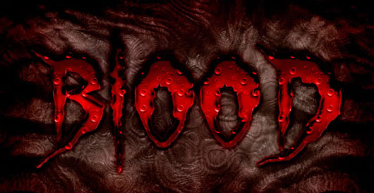 Create a Bloody Text Effect in Photoshop Using Layer Styles