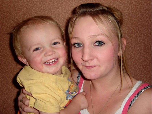 Dylan with Mummy Sherry