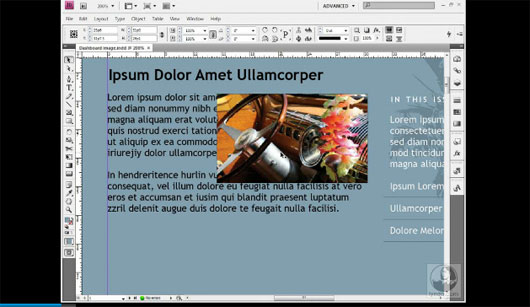 Getting Started: 08 Wrapping text around a graphic