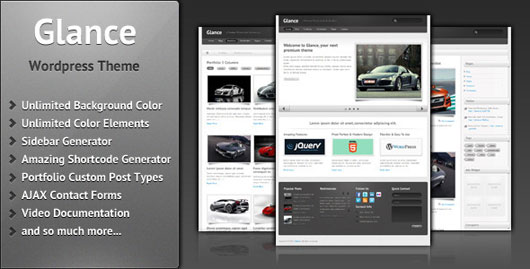 Glance Business & Portfolio Theme