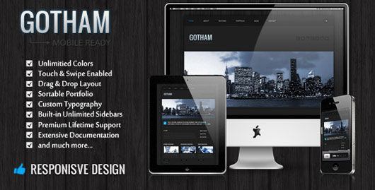 Gotham Responsive Business WordPress Theme