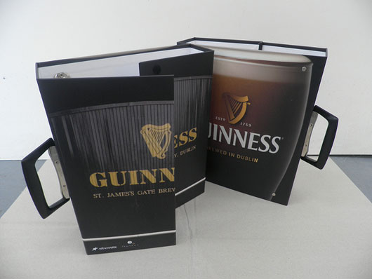 Guinness Store House Folder - Aramark