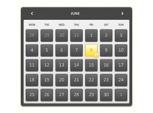 How to Create a Detailed Calendar Widget