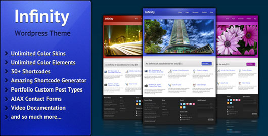 Infinity Business & Portfolio Theme