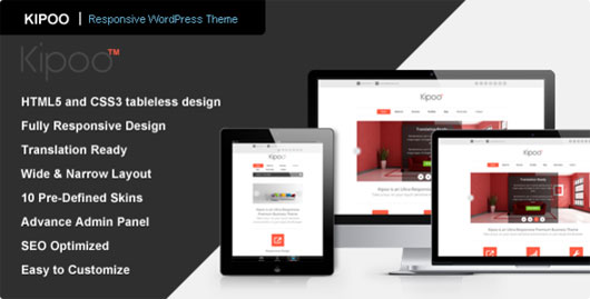 Kipoo Responsive Business WordPress Theme
