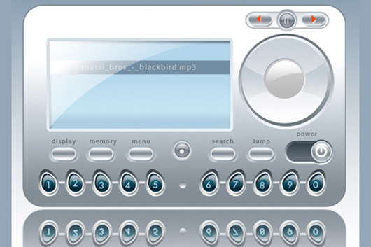 MP3 Player Interface Design