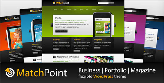 MatchPoint Business, Portfolio, Magazine theme