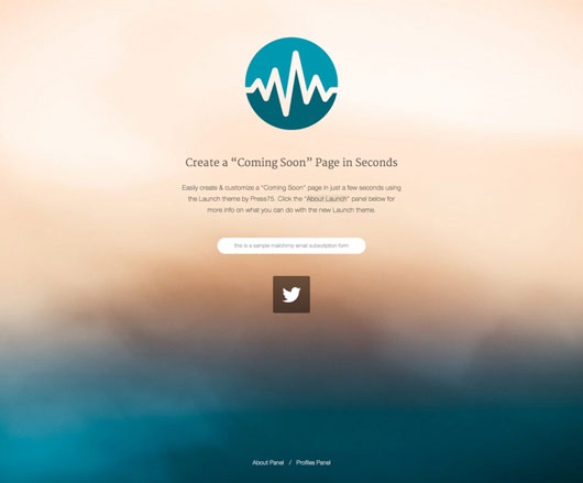Our Current WordPress Themes