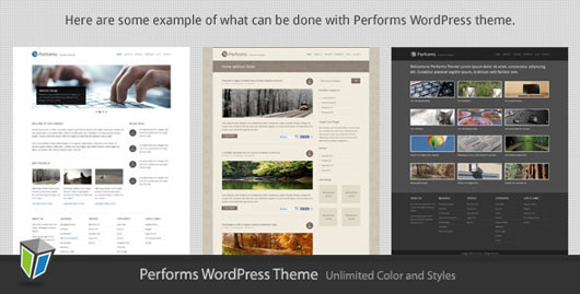 Performs Corporate Business WordPress Theme
