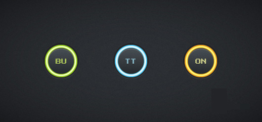 Quick Tip Create a Set of Glowing Buttons in Adobe Illustrator