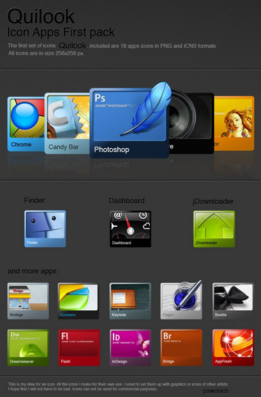 Quilook - Apps icon set
