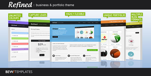 Refined Business & Portfolio Theme