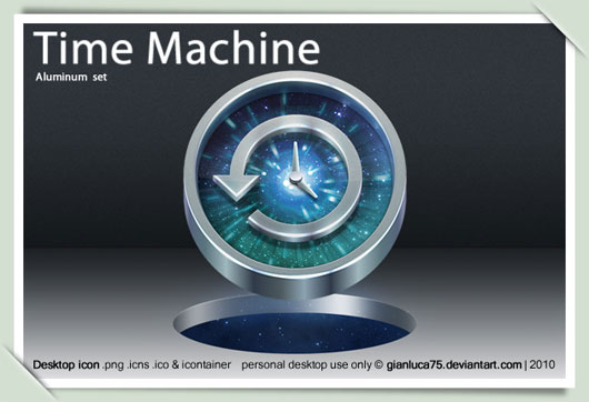 Time Machine replacement icon