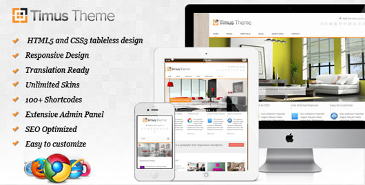 Timus Responsive Business WordPress Theme