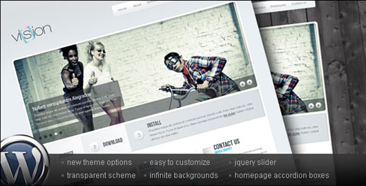 Vision WordPress Business & Portfolio theme