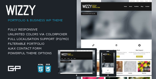 Wizzy Portfolio & Business Theme