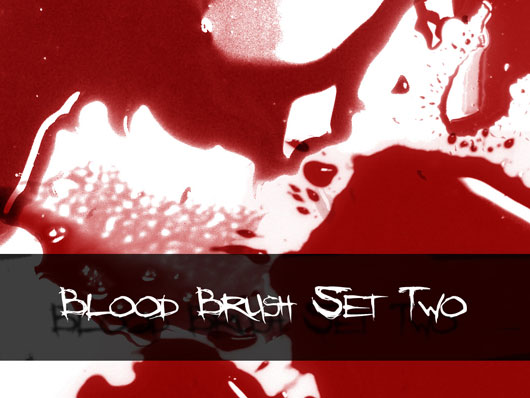 Blood Brushes Set Two