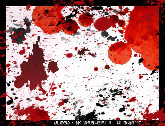 Blood and Ink Brushset 2